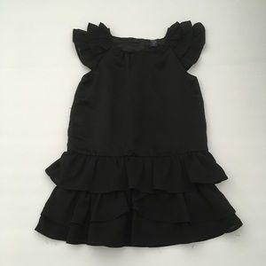 Baby Gap size 3 toddler girls black dress